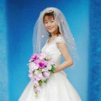 造花ブーケ 結婚式