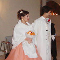 結婚式のブーケ 受講生作品
