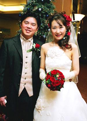 手作りブーケレッスン 町田様のご結婚式のお写真