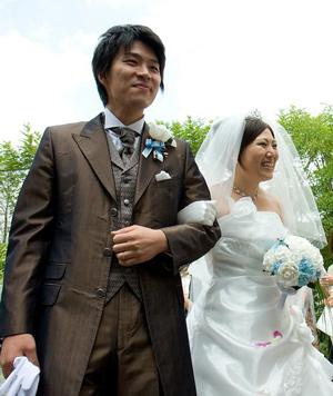 手作りブーケ 松本様 ご結婚式のお写真
