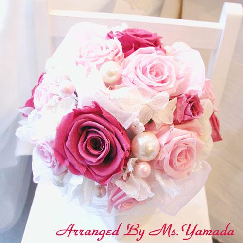 結婚式 ブーケ 作り方 ワークショップ作品