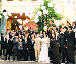 手作りの結婚式