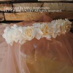 ワークショップ プリザーブドフラワーの花冠