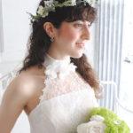 細い葉っぱのワイヤープランツ ナチュラルテイスト花冠