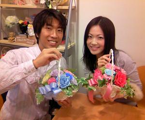 結婚式 ご両親贈呈 花 作り方教室