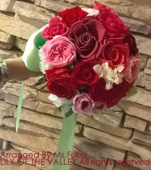 プリザーブドフラワーブーケ 花束 手作り