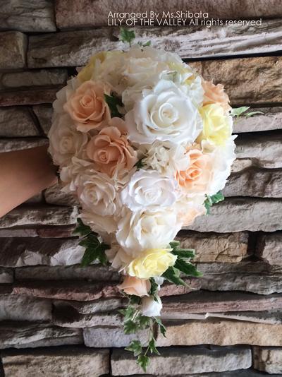 結婚式 ブーケ 作り方 一日体験
