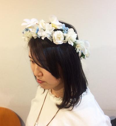 花冠 プルメリア 手作りレッスン