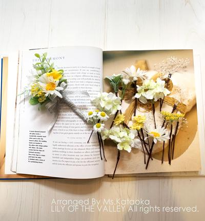造花 ヘッドパーツ 作り方 一日体験