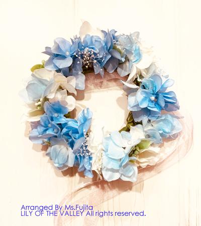 花冠 手作り