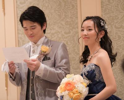 花嫁さまのお便り 増田様