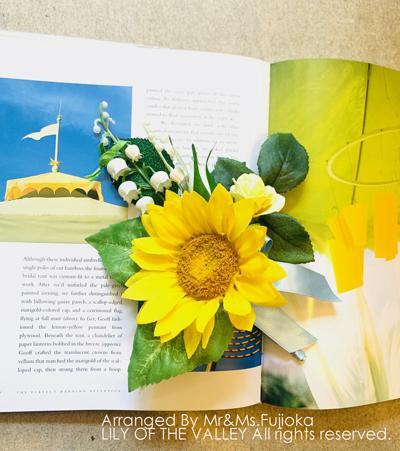 造花 ブトニア 受講生作品