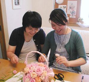 結婚式のブーケ 手作り