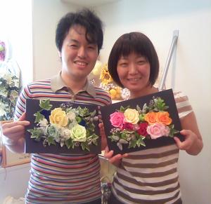 結婚式 ご両親贈呈 プリザーブド 手作りワークショップ