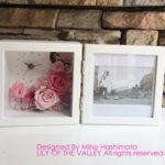 お花の時計&写真立て ご両親へのプレゼント