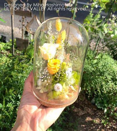 お供えの花 プリザーブドフラワー
