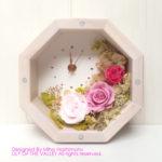 お花の時計 手作りキット